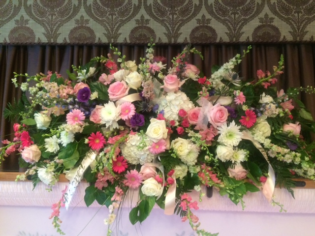 Sympathy Tributes and the meaning of flowers at a funeral